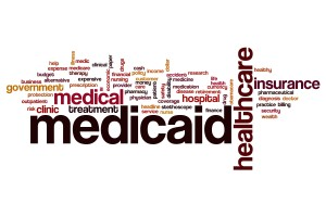 Medicaid word cloud